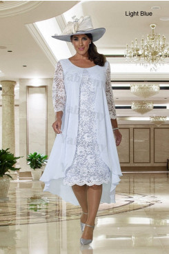 2021 Modern Mother of the bride dress Dressy Knee-Length dress mps-327