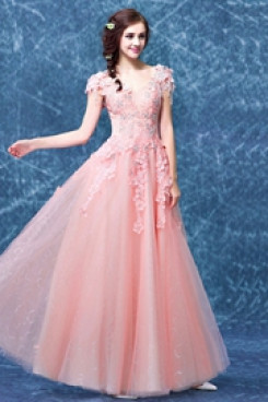 2020 New Arrival Discount Glamorous pink prom dress TSJY-068