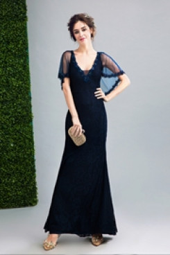 2020 New Arrival Discount Glamorous Dark Navy prom dresses TSJY-070