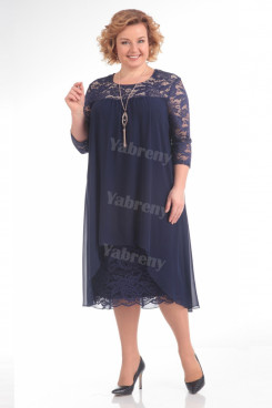 2021 Plus Size cheap Mother Of The Bride Dresses Dark Navy Women's Outfis mps-371