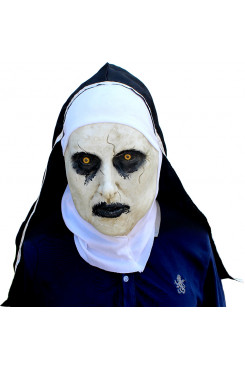 Demon Nun Mask for Cosplay Valak Latex Masks for  Halloween Costume