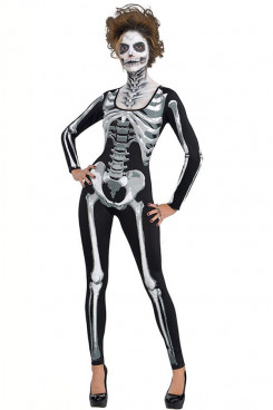 Ghost skeleton Women's cosplay costumes Halloween Fancy cosplay Disguise horror clothes female party free shipping