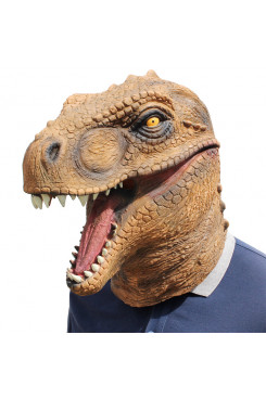 Halloween Costume Party Animal Jurassic Head Masks Dinosaur