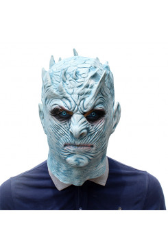 Halloween Latex Mask Adults Night's King Walker Face NIGHT RE Zombie Cosplay