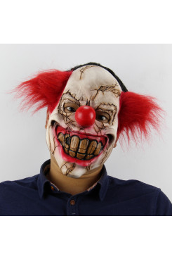 Halloween Masks Cosplay Party Horror Ghost Rotten Face Clown Masks