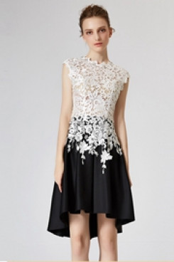 Hot Sale New Arrival lace Homecoming Dresses cyh-007