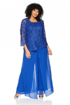 Light Royal Blue Mother of the bride garments larger size Mother of the groom outfit mps-136