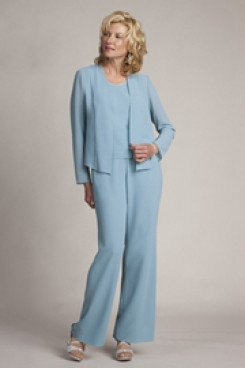 Modern Three Sets Cheap Mother Of The Bride Pantsuit mps-231