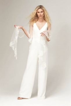 2019 New style Bridal Jumpsuit for Beach wedding so-130