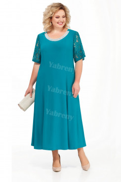 Plus Size Green Mother of the Bride Dresses Ankle-Length Women's Dresses mps-458-1