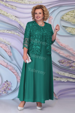 Plus Size Green Mother of the Bride Dresses Women's Outfit mps-443-4
