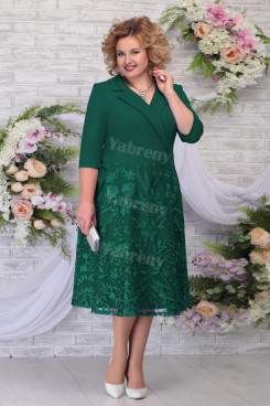 Plus Size Mother Of The Bride Dress Special Occasion Green Women's Dress mps-461-1