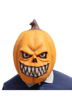 Pumpkin Head Mask Shape Skull Horror Masks for Halloween Party