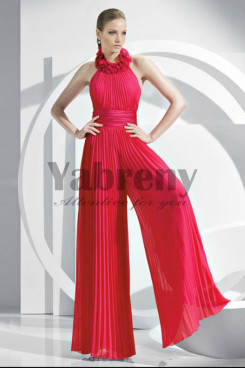 Red Fashion women's Wedding party Jumpsuits so-065