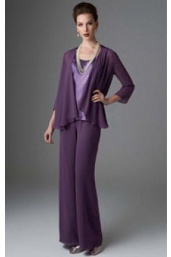 Regency women's outfits Lovely with jacket trouser suit for wedding mps-247