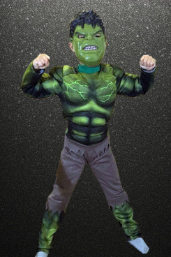 Robert Bruce Banner Hulk Halloween Costume for boy free shipping
