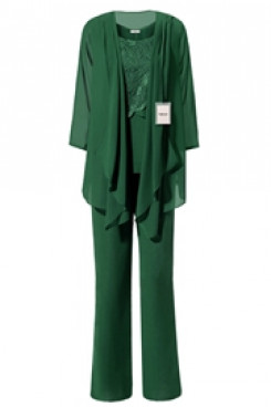 Yabreny Green Latest Fashion Mother of bride Pant suits mps-274